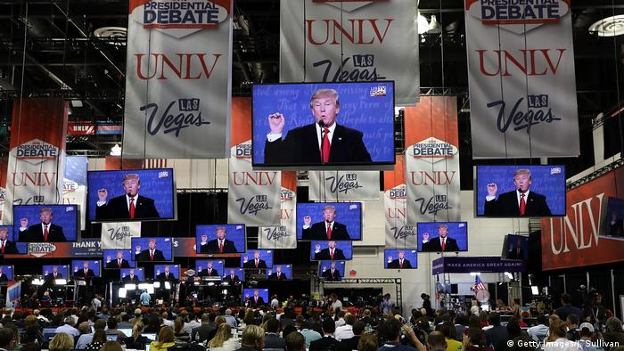 USA | 3. Präsidentschaftsdebatte 2016 in Las Vegas