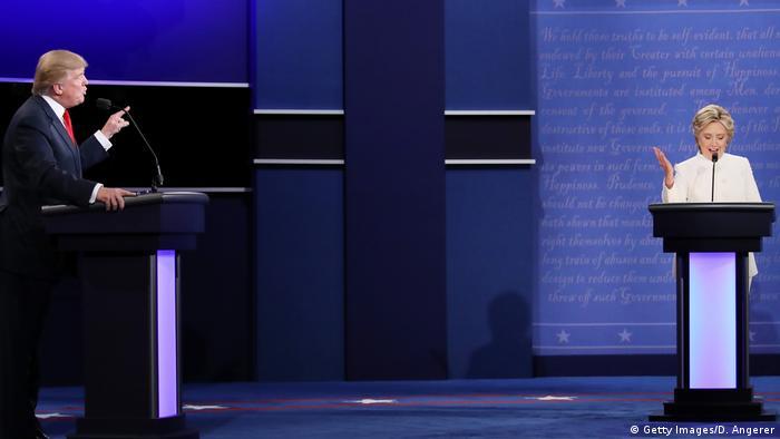USA | 3. Präsidentschaftsdebatte 2016 in Las Vegas (Getty Images/D. Angerer)