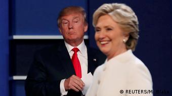 USA | Ende der 3. Präsidentschaftsdebatte 2016 in Las Vegas