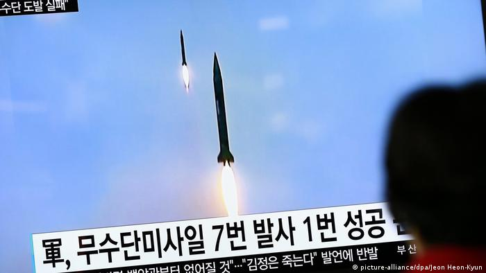 North Korea failed ballistic missile launch (picture-alliance/dpa/Jeon Heon-Kyun)