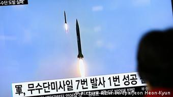 North Korea failed ballistic missile launch