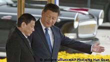 China Peking Staatsbesuch Philippinen Xi Jinping Duterte