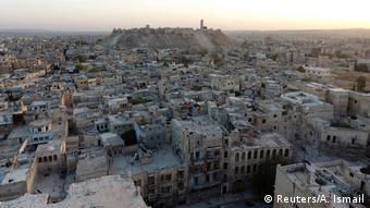 Syrien Aleppo Aufsicht auf Stadt (Reuters/A. Ismail)