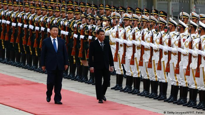 China Peking Staatsbesuch Duterte Präsident Philippinen