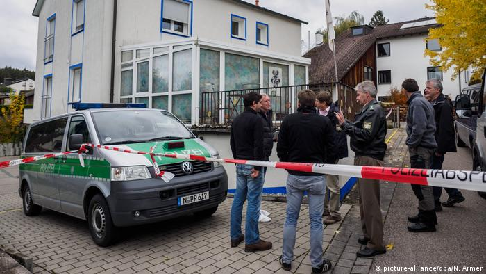 Bayern Franken Georgensgmünd Reichsbürger schießt auf Polizisten