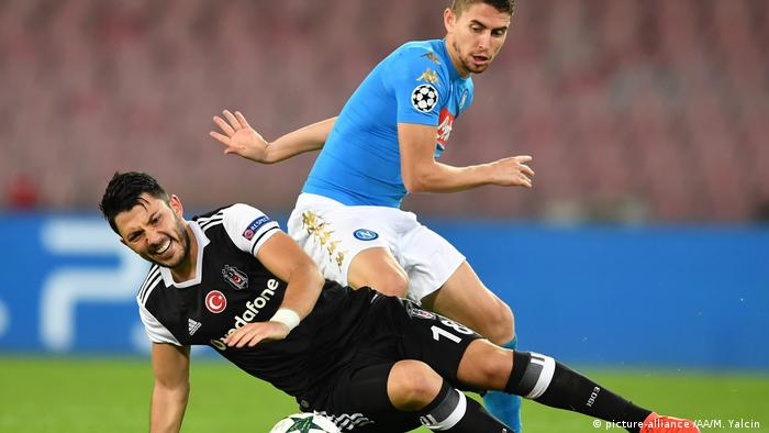 Napoli v Besiktas - UEFA Champions League (picture-alliance /AA/M. Yalcin )