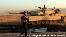 Irak Mossul Offensive der Regierungstruppen