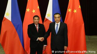 China Peking Staatsbesuch Duterte Philippinen (picture-alliance/dpa/Wu Hong)
