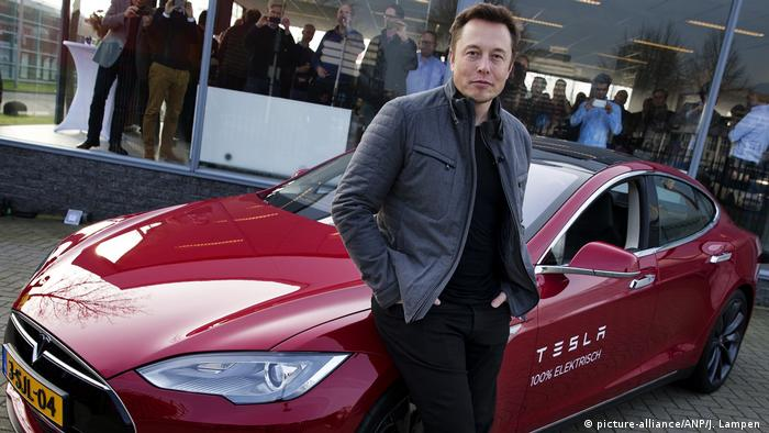 Elon Musk (picture-alliance/ANP/J. Lampen )