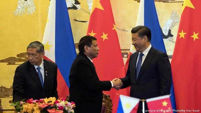 China Peking Staatsbesuch Duterte Philippinen