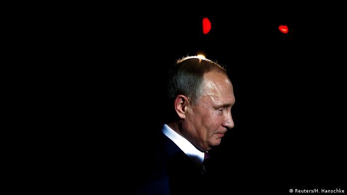 Berlin Besuch russischer Präsident Putin (Reuters/H. Hanschke)
