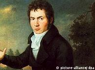 Beethoven em 1804, retratado de Joseph Maehler