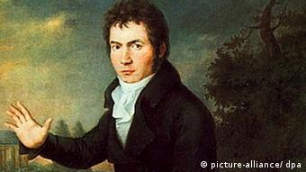 Portrait von Ludwig van Beethoven in Wien um 1804 von Willibrord Joseph Maehler (Foto: Picture-alliance/dpa)