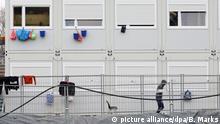مأوى للاجئين في مدينة هامبورغ الألمانية