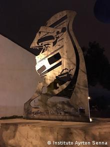 Statue verkörpert Ayrton Senna