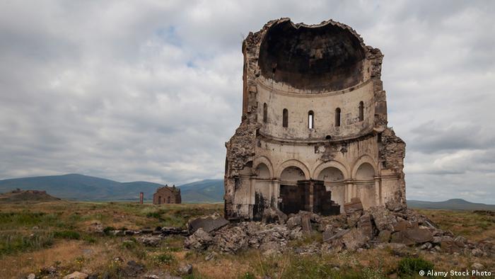 Руины древней столицы в Турции