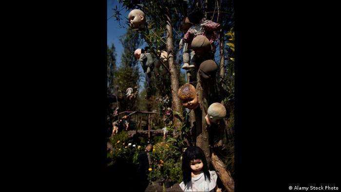 Кукольный остров в Мехико