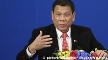 China Peking Staatsbesuch Rodrigo Duterte Philippinen