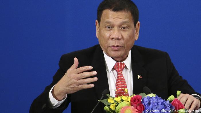 China Peking Staatsbesuch Rodrigo Duterte Philippinen