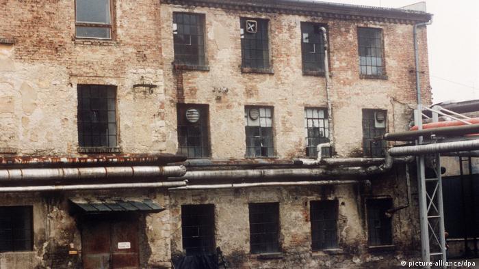 Tschechien Ruinen von Oskar Schindlers Fabrik in Brünnlitz