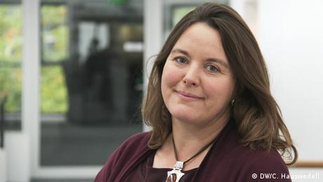 DW Akademie - Sandra van Edig, Bereichsleiterin Nahost (DW/C. Hauswedell)