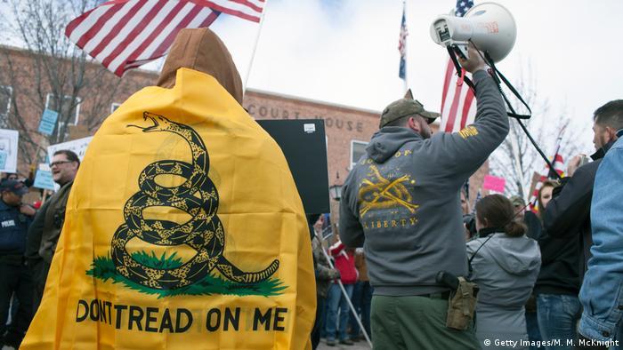 USA Anti-Regierungsproteste in Burns, Oregon