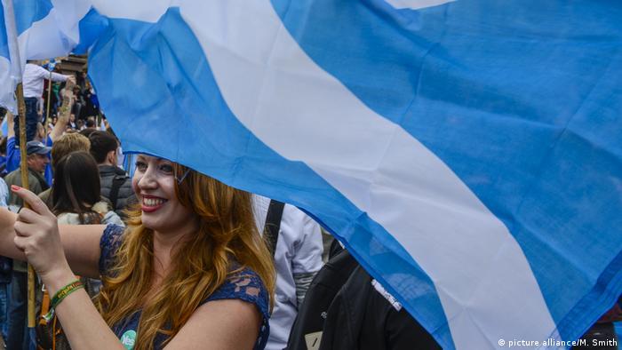 Scottish Referendum Vote (picture alliance/M. Smith)
