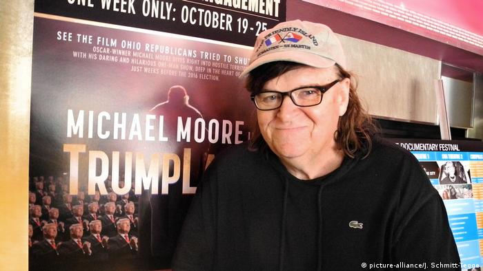 Premiere Film Michael Moore in Trumpland (picture-alliance/J. Schmitt-Tegge)
