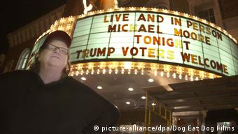 Filmstill Michael Moore in Trumpland (picture-alliance/dpa/Dog Eat Dog Films)