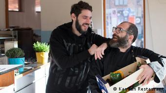 Os proprietários dos Kanaan: Oz Ben David e Jalil Dabit