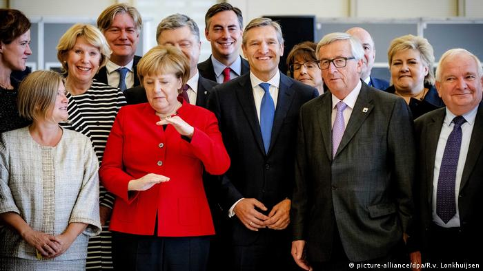 EU Gipfel in Brüssel - Bundeskanzlerin Angela Merkel