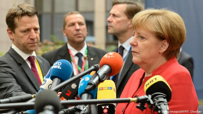 EU Gipfel in Brüssel - Bundeskanzlerin Angela Merkel (Getty Images/AFP/T. Charlier)