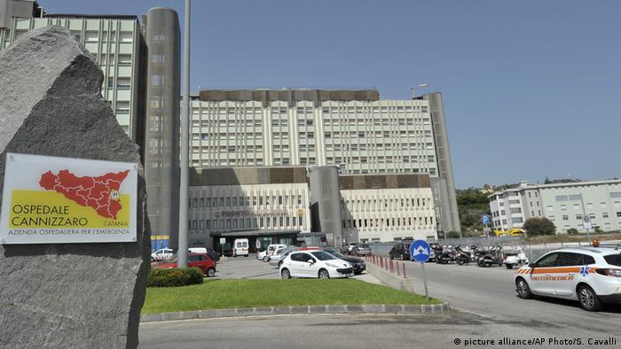 Italien Cannizzaro Krankenhaus Valentina Milluzzo