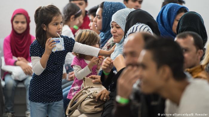 Deutschland Asylbewerber in Gießen