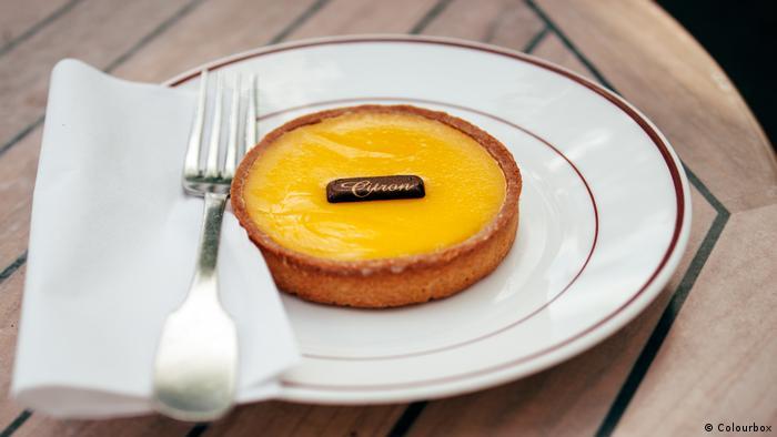Französischer Zitronenkuchen Tarte au citron (Colourbox)