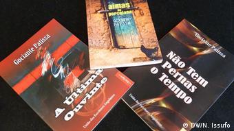 Frankfurter Buchmesse, Gociante Patissa, Schriftsteller aus Angola (DW/N. Issufo)