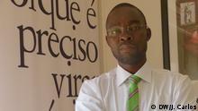 Domingos da Cruz, Journalist, Aktivist und Professor in der Universität in Angola