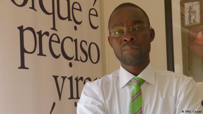 Journalist Domingos da Cruz