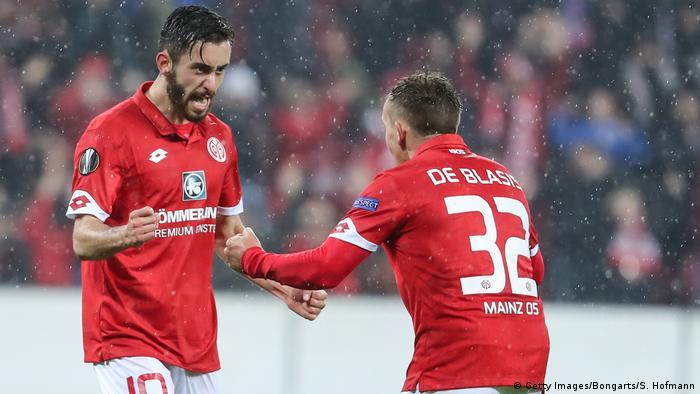 Europa League: Schalke′s Konoplyanka downs Krasnodar, Mainz