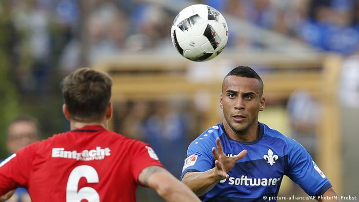 Bundesliga | SV Darmstadt 98 - Aenis Ben Hatira (picture-alliance/AP Photo/M. Probst)