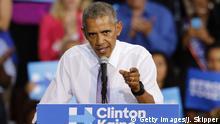 USA | Auftritt US-Präsident Barrack Obama auf der Wahlkampfveranstaltung in Miami Gardens