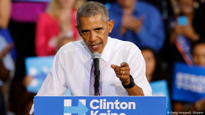 Obama slams Trump for questioning the integrity of the US election ...