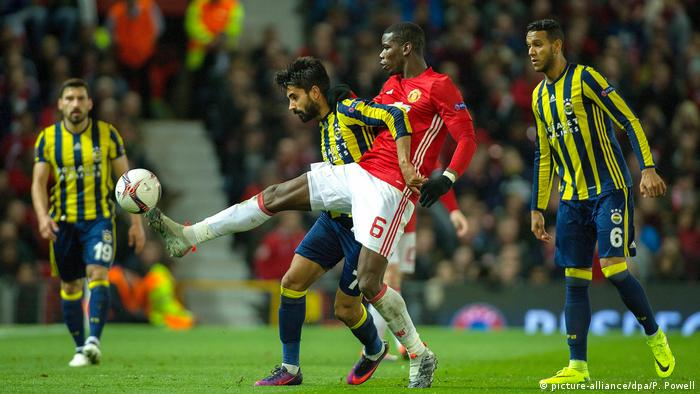 Fußball Europa League Manchester United vs. Fenerbahce Istanbul (picture-alliance/dpa/P. Powell)