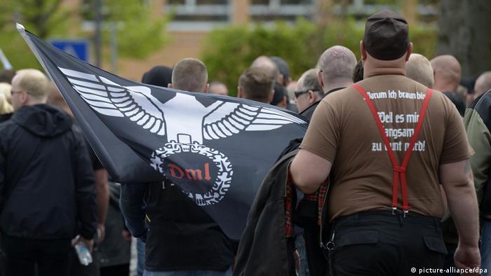 Symbolbild Reichsbürger (picture-alliance/dpa)
