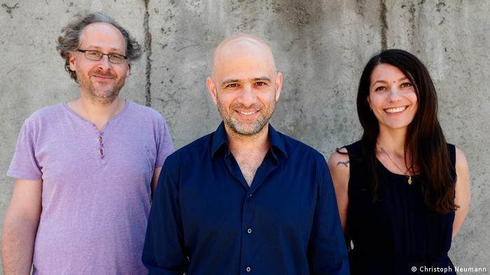 Berlin ID Festival organizers: Elad Lapidot, Ohad Ben-Ari, Alona Harpaz
