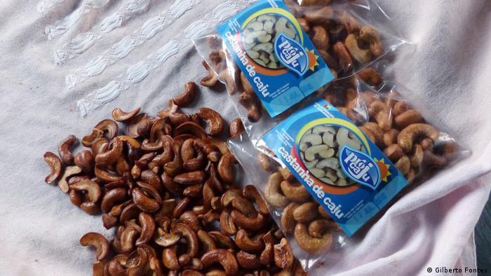 Cashew-Kooperative in Guinea-Bissau