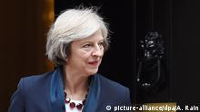 London Downing Street Theresa May (picture-alliance/dpa/A. Rain)