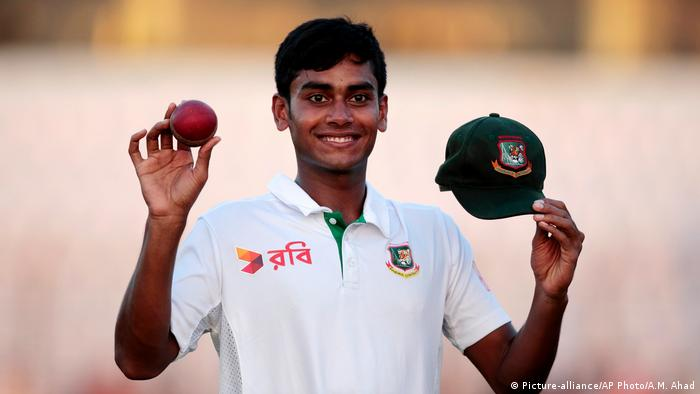 Bangladesh Mehedi Hasan Miraz (Picture-alliance/AP Photo/A.M. Ahad)
