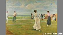 Ausstellung Max Liebermann - Vom Freizeitvergnügen zum modernen Sport