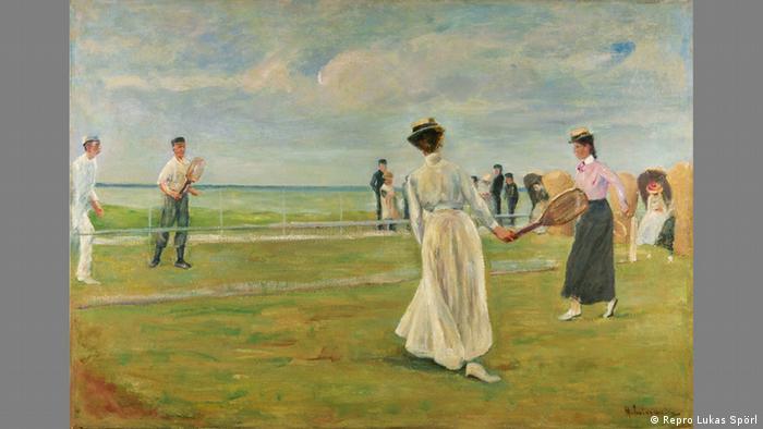 Игроки в теннис у моря (1901)